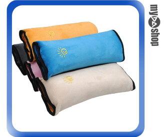 《DA量販店》兒童 汽車 安全帶套 護肩套 卡通 可愛 加長 加厚 安全 顏色隨機(V50-0277)