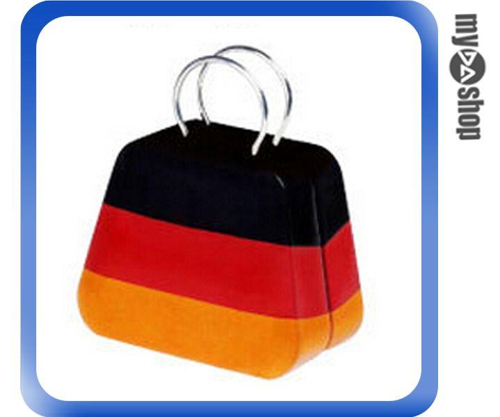 《DA量販店》婚禮小物 德國 國旗 喜糖盒 行李箱 手提包 金屬盒(V50-1036)