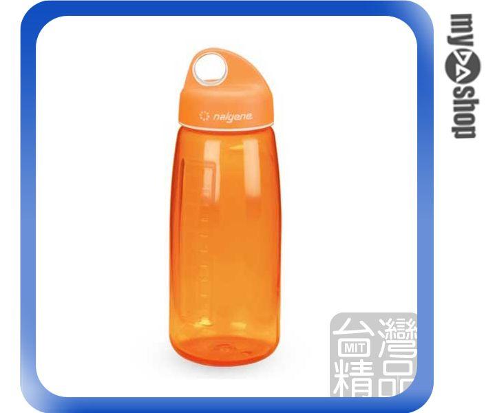《DA量販店》Nalgene 750cc N-GEN 寬嘴流線型 水壺 橘色 休閒 運動 適用(W07-045)