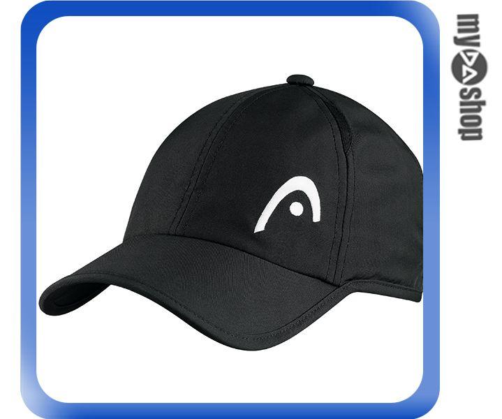 《DA量販店》HEAD Pro Player 網球 運動 帽子 黑色(W92-0042)