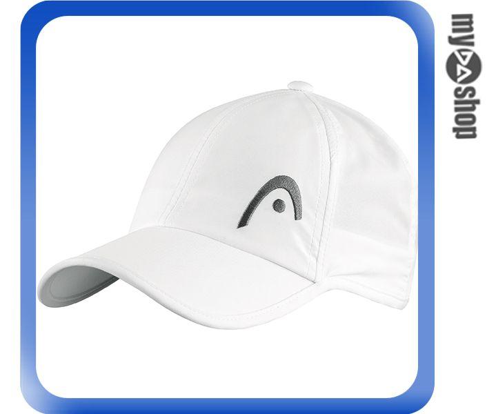 《DA量販店》HEAD Pro Player 網球 運動 帽子 白色(W92-0043)