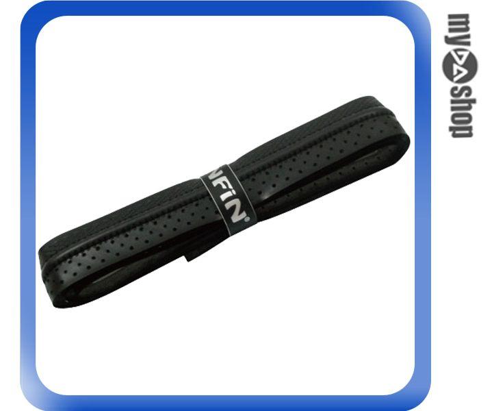 《DA量販店》Infin 雙紋路 車縫線 網球 球拍 握把布 黑色(W92-0095)