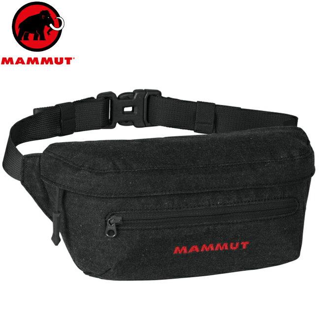 Mammut 長毛象 腰包/運動腰包/隨身包Classic Bumbag Melange 2520-00631 黑色 2L