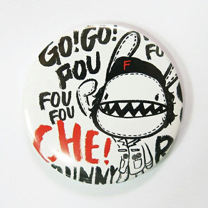 《Foufou》胸章Pins(58mm) - Che Bunny
