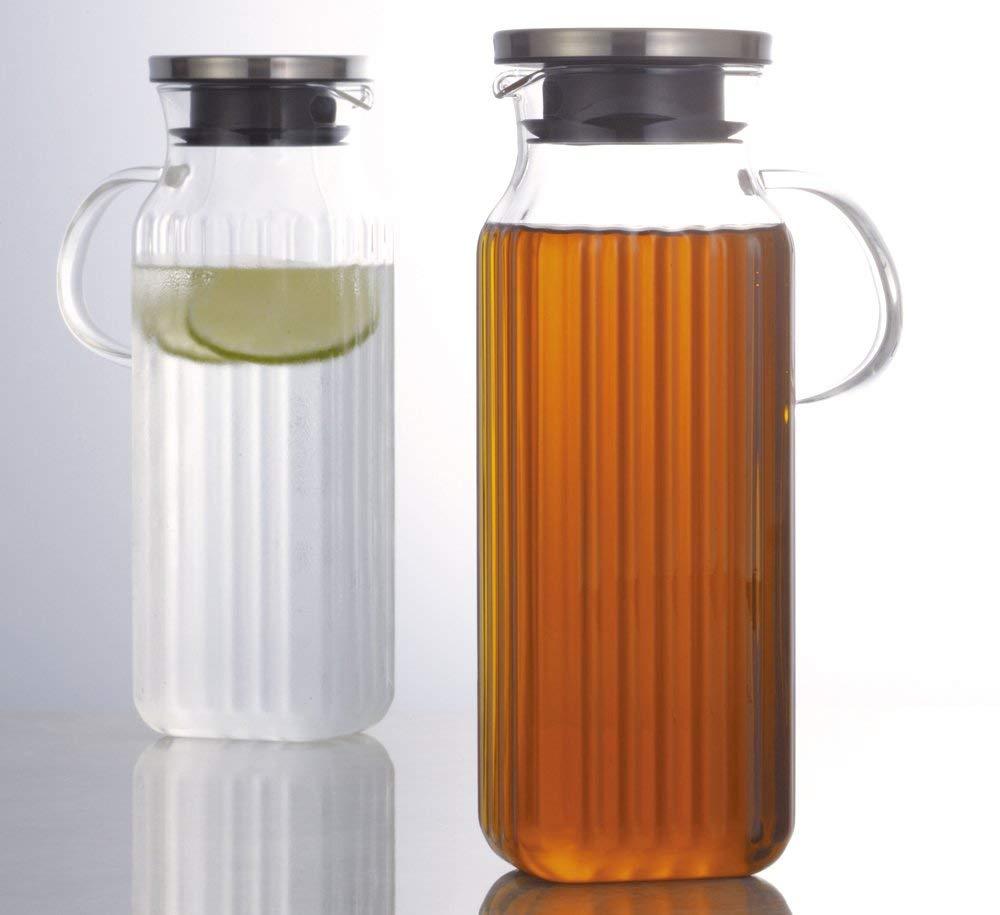 iwaki 耐熱玻璃水壺1000ml(手柄款)KT296KT-SV[101068]