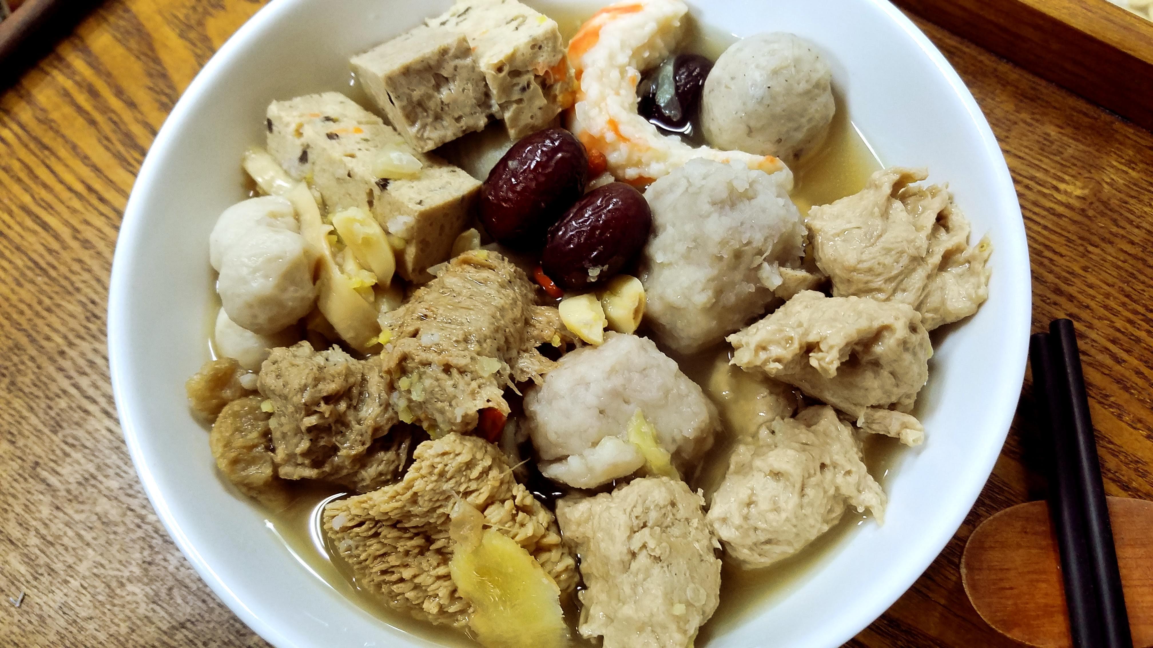 佛跳牆(素)-【利津食品行】辦桌 宴席 年菜 素食 養生 冷凍食品