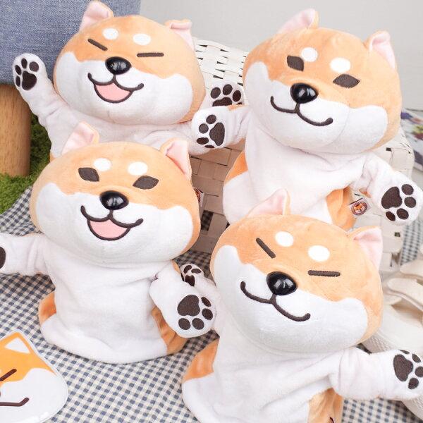 PGS7柴犬系列商品-日本柴犬造型手偶玩偶玩具柴柴【SJZ80144】