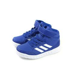 adidas AltaSport Mid EL K 運動鞋 訓練鞋 藍色 童鞋 AQ0186 no630