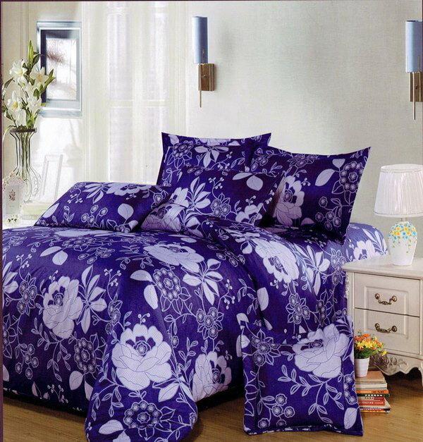 ?臺灣製?舒柔棉磨毛超細纖維床包組《HW-0017》5X6.2尺雙人床包組+兩用被 四件組◤彩虹森林◥