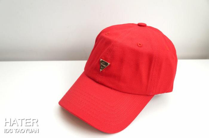 ►法西歐_桃園◄ HATer Classic Logo Low Profile Cap 彎帽 童帽 布帽 五色 紅