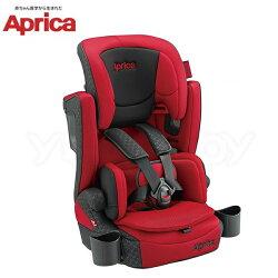 愛普力卡 Aprica 頭等艙成長型輔助汽車安全座椅汽座 AirGroove Plus