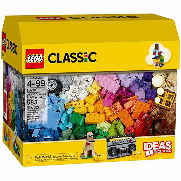【LEGO 樂高積木】Classic 經典系列 - 樂高創意箱 (基本顆粒) LT-10702