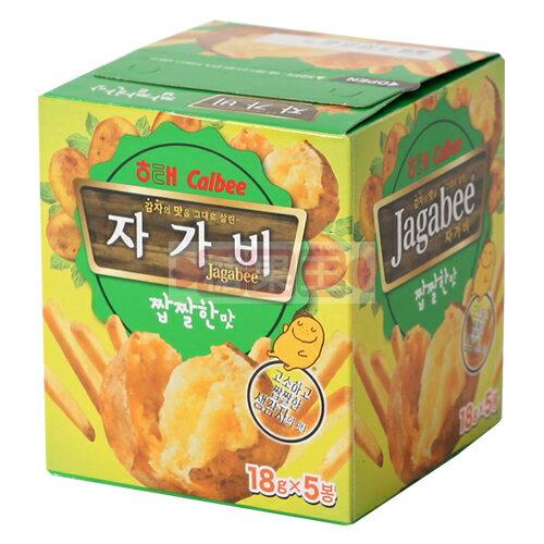 韓國 Calbee 卡樂比 薯條先生 5入裝