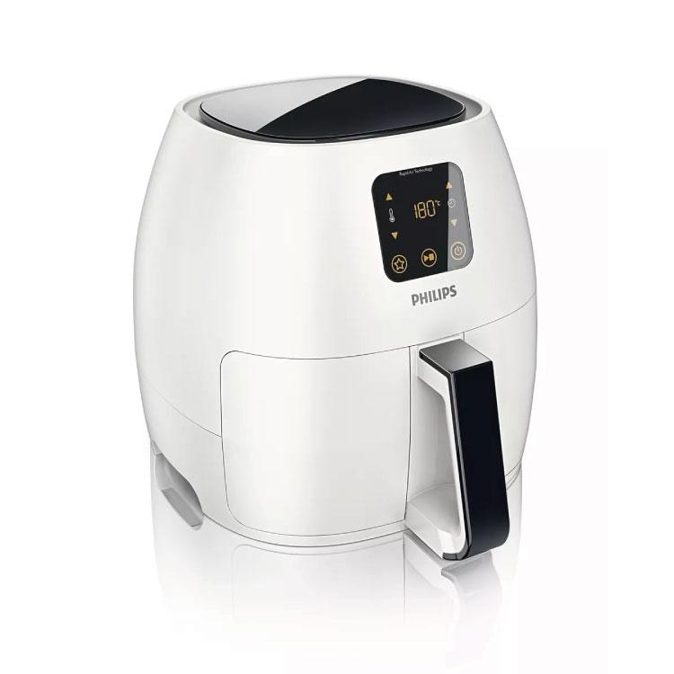 飛利浦 1.2公升氣炸鍋-白(贈煎魚盤、烘烤鍋、食譜) HD9240【比漾廣場】