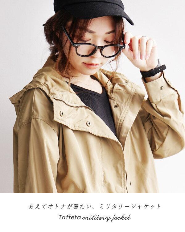 日本e-zakka / 連帽軍裝夾克外套 / 32620-1900091 / 日本必買 代購 / 日本樂天直送(4500) 1