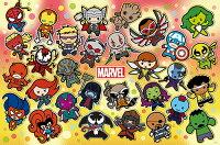 漫威英雄Marvel 周邊商品推薦HPM01000-006Marvel Kawaii 漫威可愛(1)拼圖1000片