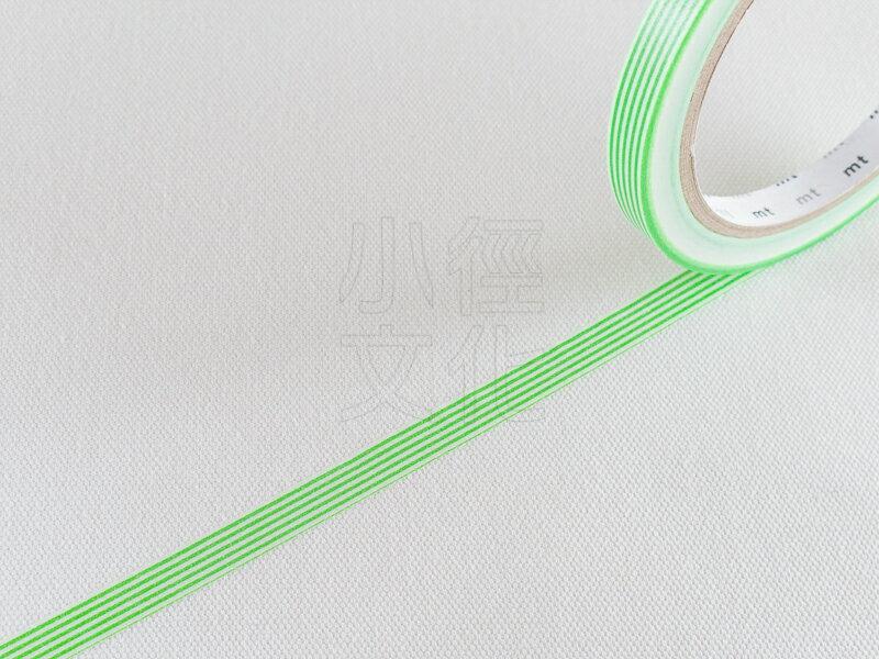 *小徑文化*日本和紙膠帶 mt sealer - 條紋 . 青綠 ( MTSEA032 )