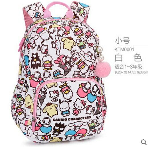 正版 Hello kitty 凱蒂貓兒童雙肩包後背包 小學生書包 -KTM0001