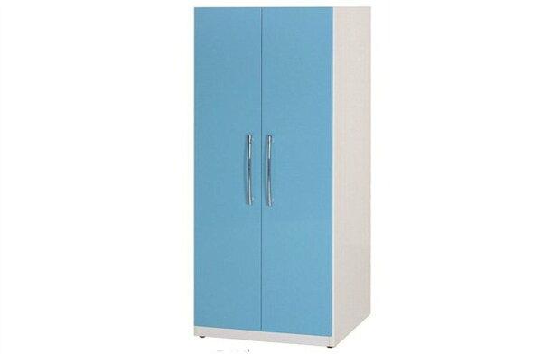 【石川家居】829-07(藍白色)衣櫥(CT-111)#訂製預購款式#環保塑鋼P無毒防霉易清潔