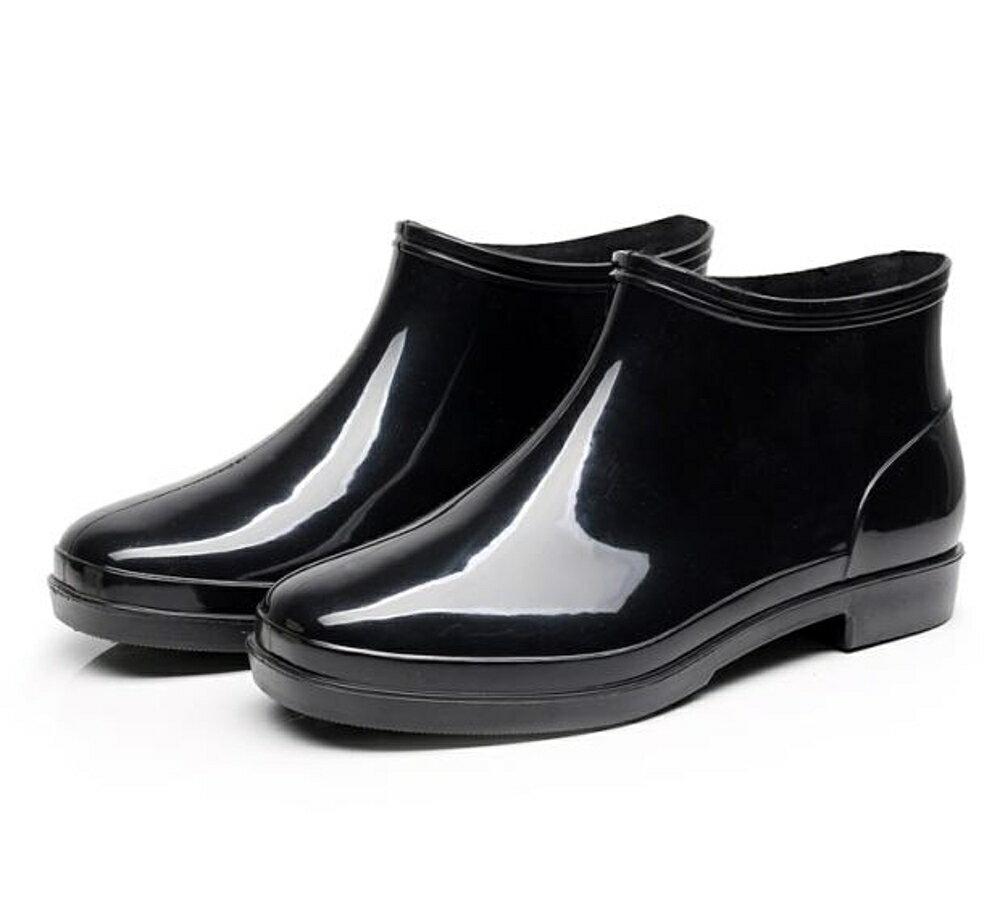 短筒雨鞋大碼雨靴男防滑水鞋膠鞋
