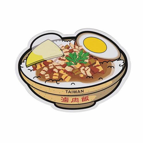 【MILU DESIGN】+PostCard>>台灣旅行明信片-台灣滷肉飯/明信片(台灣美食/TAIWAN FOOD)