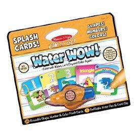 【悅兒樂婦幼用品?】美國瑪莉莎 Melissa & Doug 神奇水畫卡-數字顏色形狀