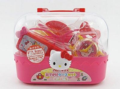 【Hello Kitty 卡娃伊系列】KT 外出郊遊化妝箱