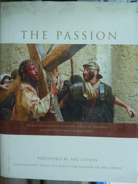【書寶二手書T9/寫真集_PJQ】The Passion_Mel Gibson