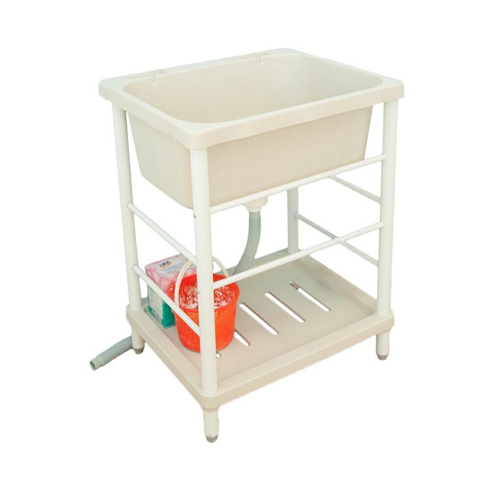 大容量日式塑鋼洗濯槽附洗衣板限時$1690/流理台/洗衣槽/洗手台/水槽/洗碗槽/洗衣板【JL精品工坊】