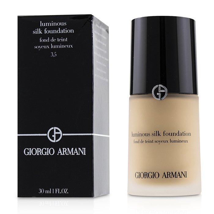 Giorgio Armani 亞曼尼 輕透亮絲光粉底 - # 3.5 (Light, Warm) 30ml/1oz