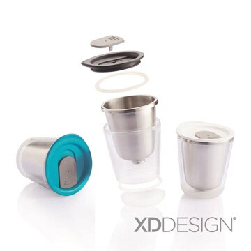 用品  隨身杯~XD~Design Dia Travel 迷你隨身杯~三款顏色~戀家小舖,