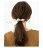 日本CREAM DOT  /  ポニーフック ヘアフック ヘアカフス ヘアゴム 大人っぽい 黒 おしゃれ ヘアアクセサリー リボン 大人 上品 エレガント シンプル フェミニン オフィス 通勤 きれいめ ブラック ネイビー グレー  /  a03562  /  日本必買 日本樂天直送(1098) 6