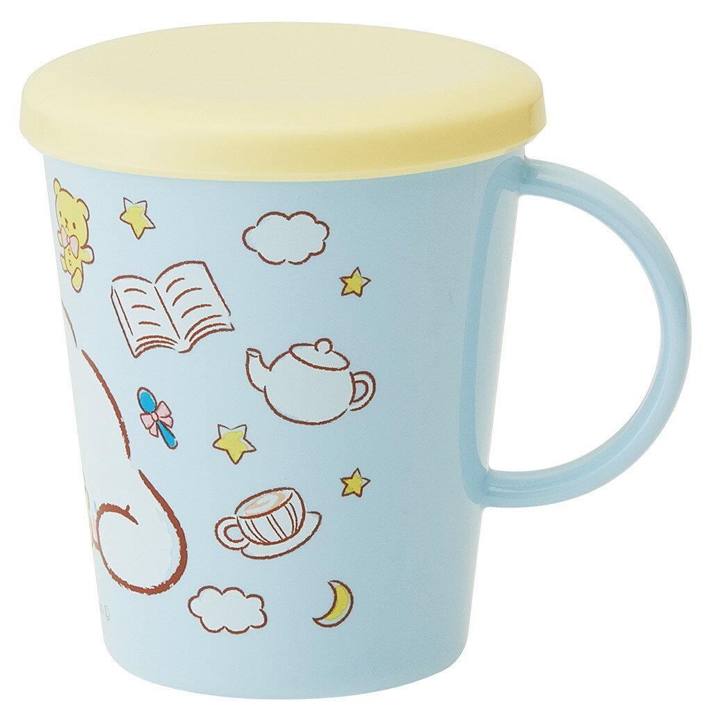 大賀屋 大耳狗 水杯 附 杯蓋 杯墊 杯子 水杯 茶杯 漱口杯 日本製 三麗鷗 肉桂狗 正版 授權 J00013867