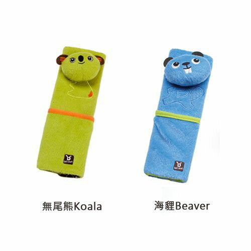 ★衛立兒生活館★Benbat 安全帶護套 4-8歲(無尾熊/海狸)
