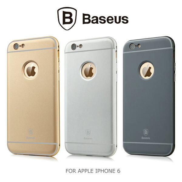 強尼拍賣~BASEUS 倍思 APPLE IPHONE 6 / 6S Plus 鉑士 Classic 金屬邊框+殼