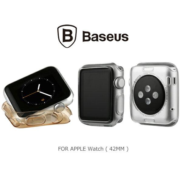 強尼拍賣~ BASEUS 倍思 Apple Watch (42mm) 簡系列保護套 手錶保護套 果凍殼