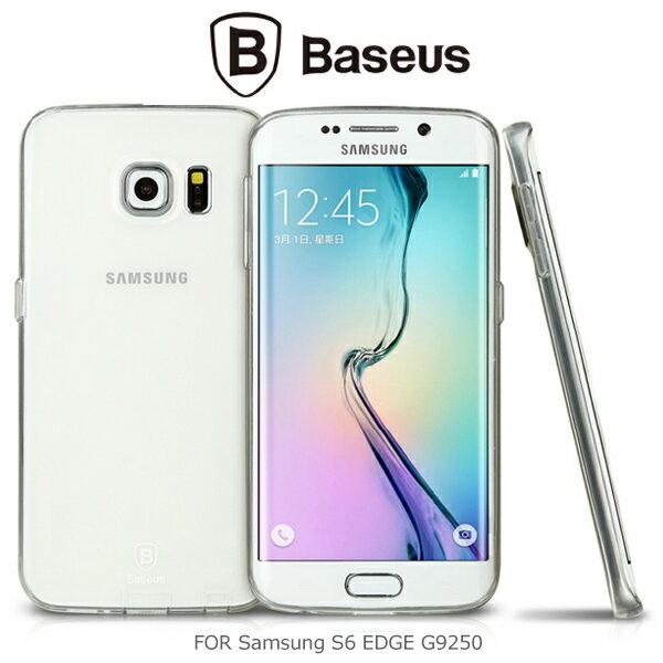 強尼拍賣~BASEUS 倍思 Samsung S6 EDGE G9250 逸透保護套 透明殼 保護套 保護殼