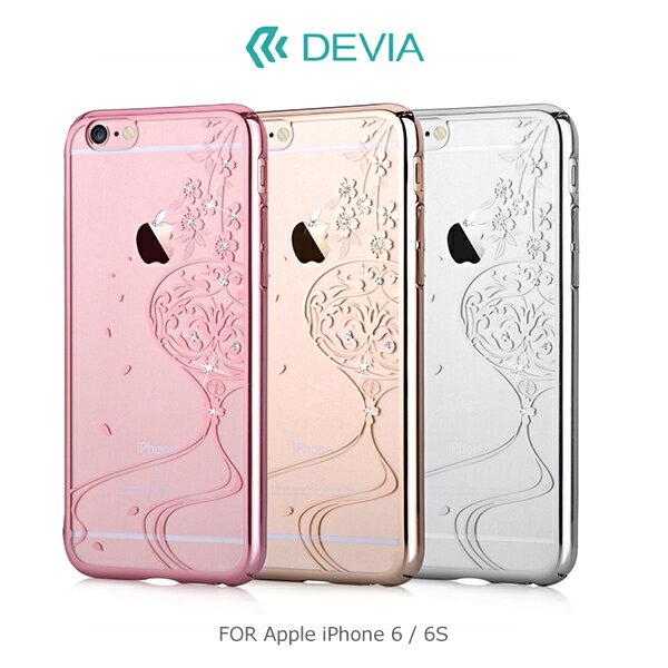 強尼拍賣~DEVIAAppleiPhone6S6SPlus晶彩保護殼(舞動)背殼保護套