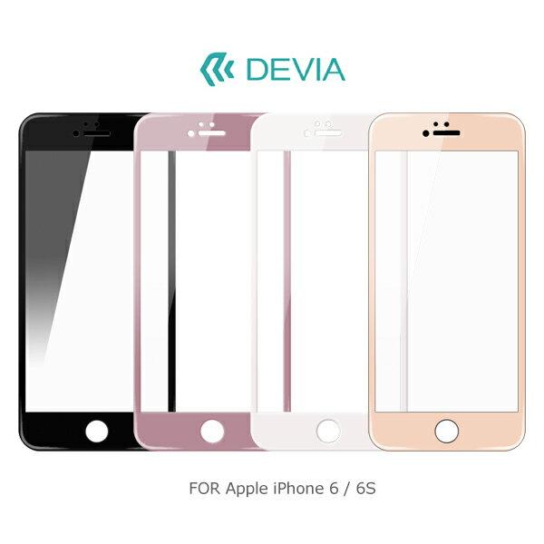 強尼拍賣~DEVIAAppleiPhone6S6SPlus臻系列玻璃貼0.18mm9H硬度2.5D