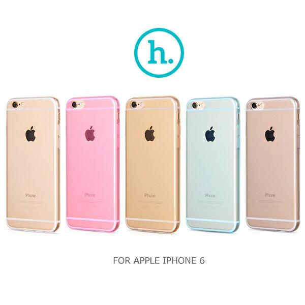 強尼拍賣~ HOCO APPLE IPHONE 6 4.7吋 輕系列TPU套 軟套 果凍套 透色套 保護套 超薄套