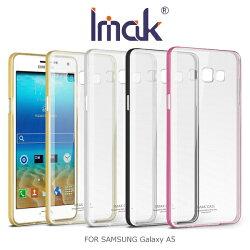 強尼拍賣~ IMAK SAMSUNG Galaxy A5 金屬邊框TPU套 金屬框 軟套 軟殼 雙料殼