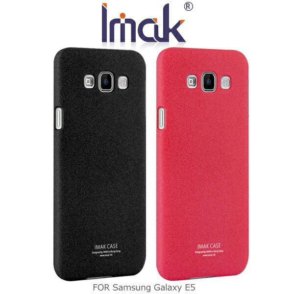 強尼拍賣~ IMAK Samsung Galaxy E5 牛仔超薄保護殼 磨砂殼 硬殼 彩殼 保護套