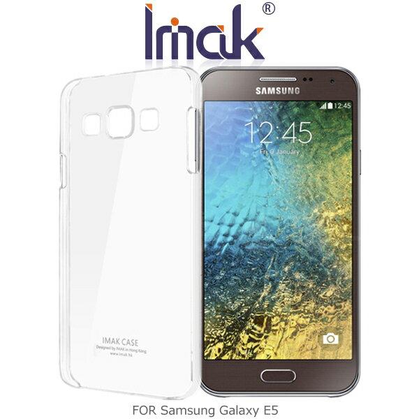 強尼拍賣~ IMAK Samsung Galaxy E5 羽翼II水晶保護殼 加強耐磨版 透明保護殼