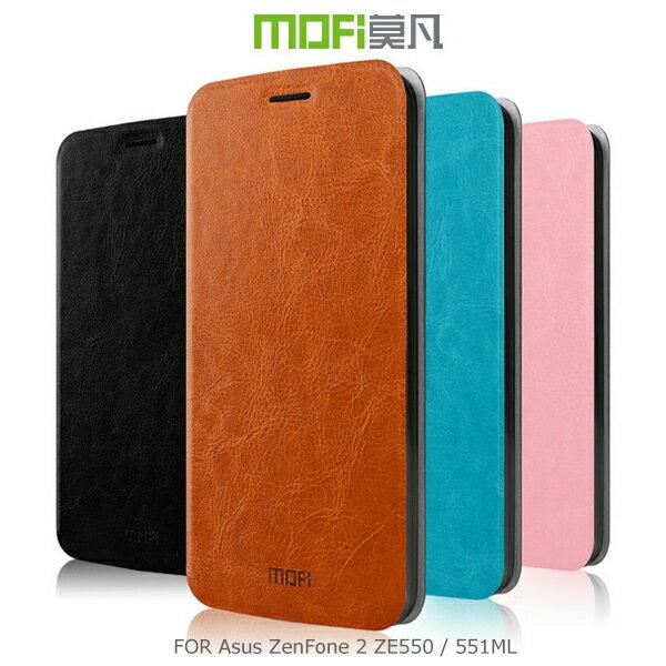 強尼拍賣~ MOFI 莫凡 Asus ZenFone 2 ZE550/551ML 睿系列側翻皮套 保護殼 保護套