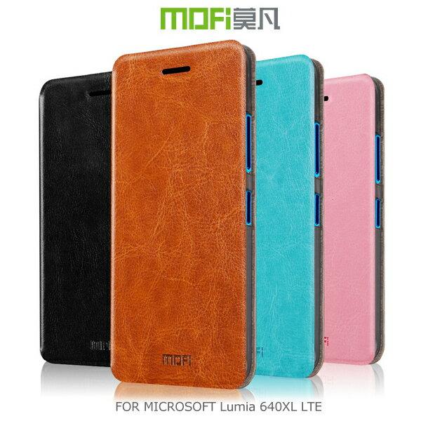強尼拍賣~現貨出清 MOFI 莫凡 Microsoft Lumia 640XL LTE 睿系列側翻皮套 保護殼 保護套