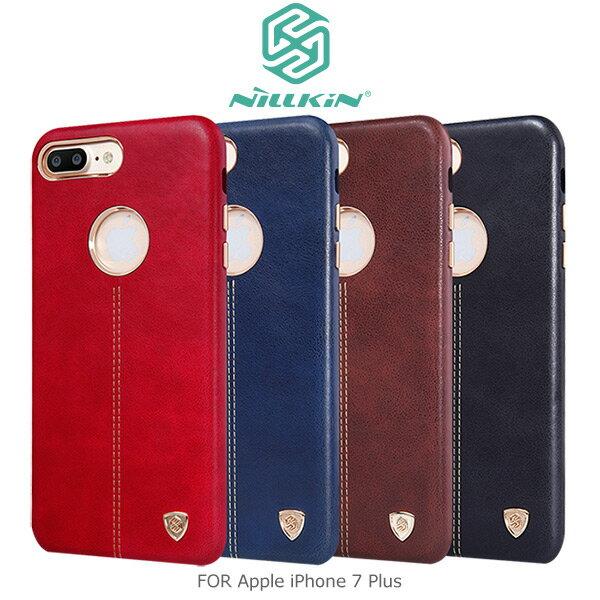 強尼拍賣~NILLKINAppleiPhone7Plus英士保護殼保護套背蓋