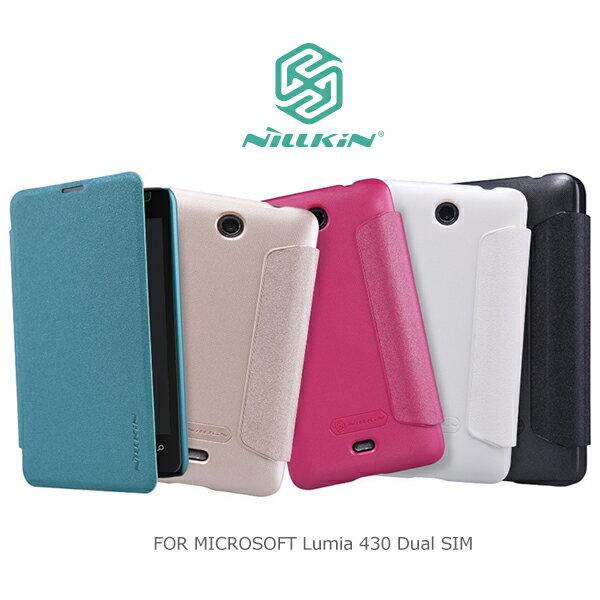 強尼拍賣~ 現貨出清NILLKIN MICROSOFT Lumia 430 Dual SIM 星音勻皮套 保護套 保護殼 手機套