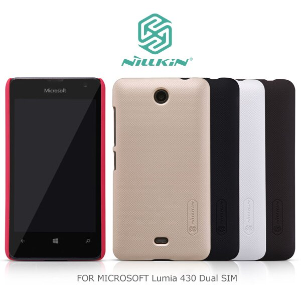 強尼拍賣~ NILLKIN MICROSOFT Lumia 430 Dual SIM 超級護盾保護殼 硬殼
