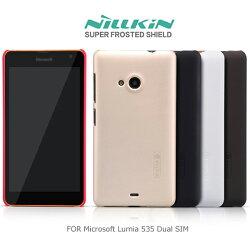 強尼拍賣~ NILLKIN Microsoft Lumia 535 Dual SIM 超級護盾硬質保護殼 抗指紋磨砂硬殼