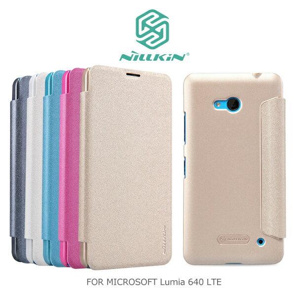 強尼拍賣^~ NILLKIN MICROSOFT Lumia 640 LTE 星音勻皮套